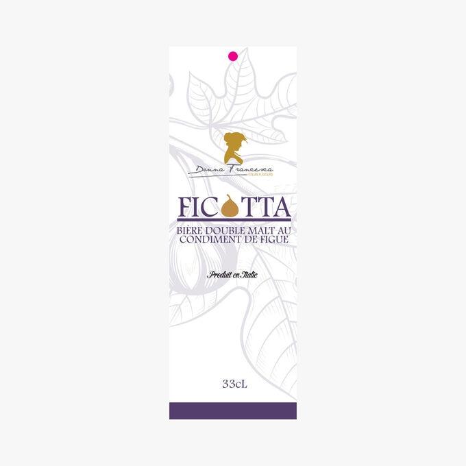 Bière double malt au condiment de figue Donna francesca