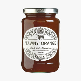 """Tawny"" orange marmalade with thick-cut peel Wilkin & Sons"