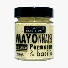 Parmesan and basil-flavoured mayonnaise Savor & Sens