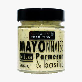 Mayonnaise saveur Parmesan et basilic Savor & Sens