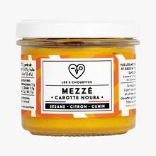 Mezzé bio, carotte-sésame-citron-cumin Les 3 chouettes