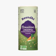 L'Oriental stock powder, vegetables and mild spices from the East Beendhi