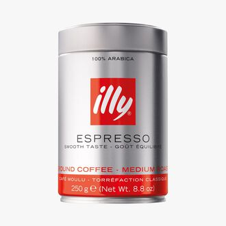 Ground coffee – classic roast Illy