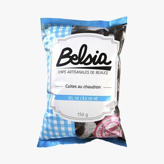 Chips artisanales de Beauce, cuites au chaudron Belsia