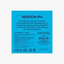 Bière Session IPA Gallia Paris