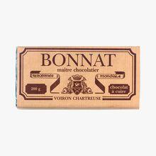 Tablette de chocolat à cuire Bonnat