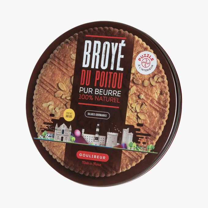 Boîte en fer Grande galette pur beurre Goulibeur