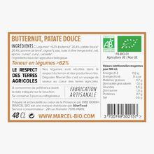 Soupe bio butternut, patate douce Marcel Bio