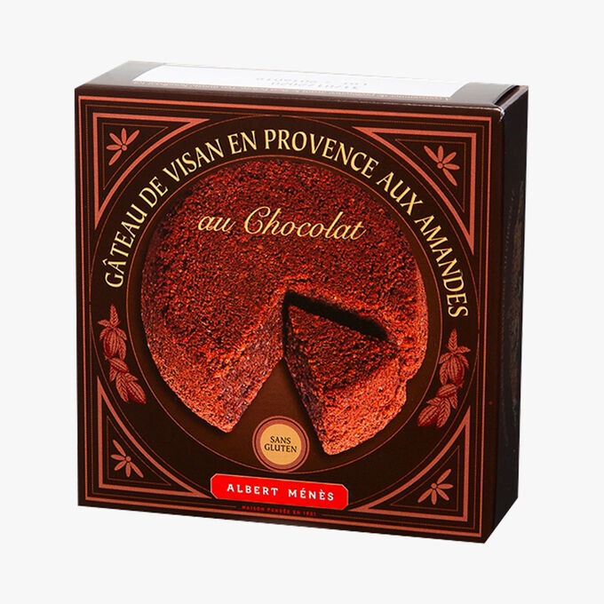 Provençal Visan cake with almonds and chocolate – Gluten free Albert Ménès