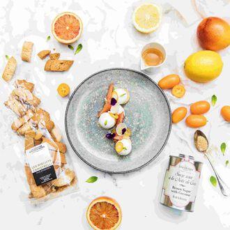 Dessert aux agrumes, , hi-res title=Dessert aux agrumes,