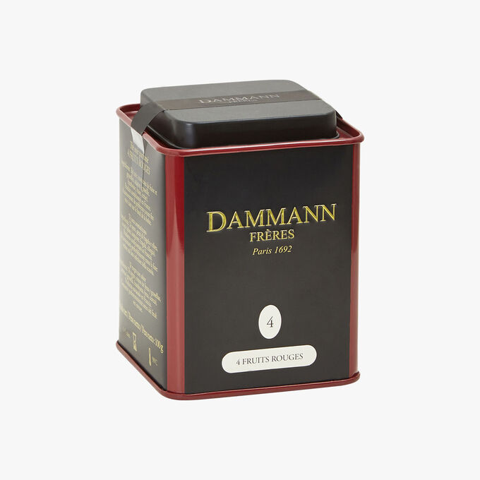 Thé noir parfumé 4 Fruits Rouges N° 4 Dammann Frères