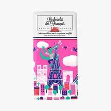 Lait croustillant au riz et quinoa soufflés, illustration Rob Hodgson Le chocolat des Français