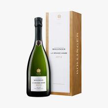 Champagne Bollinger, La Grande Année, 2012, étui Bollinger
