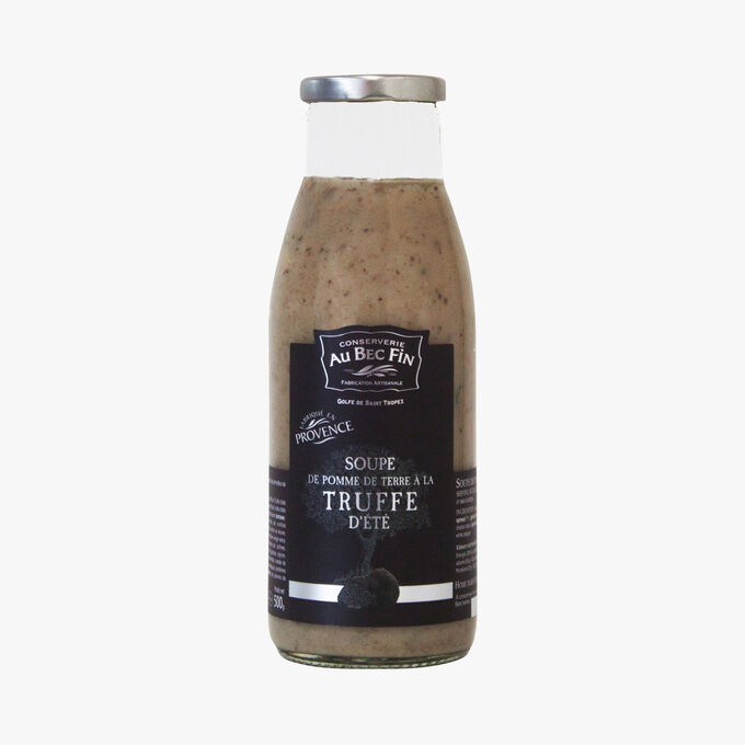 Soupe de pomme de terre à la truffe d'été Au Bec Fin
