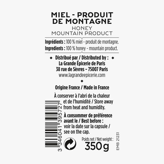 Miel - produit de montagne La Grande Épicerie de Paris
