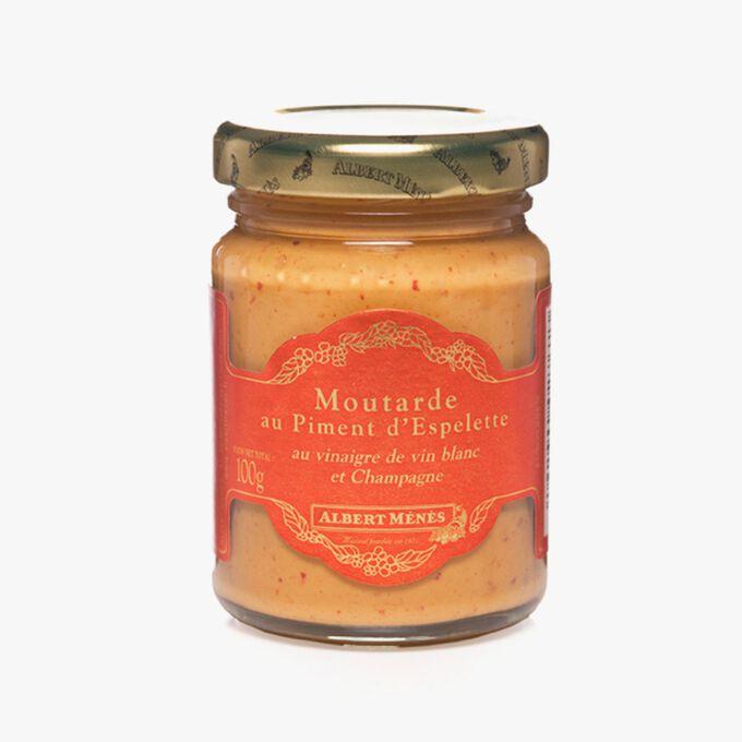 Moutarde au Piment d'Espelette Albert Ménès