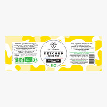 Organic Jaune Pop ketchup cauliflower-curry Les 3 chouettes