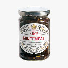 """A special """"mincemeat"""" blend of fruit and spices  Wilkin & Sons"""