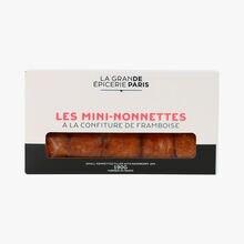 Mini-nonnettes with raspberry jam La Grande Épicerie de Paris