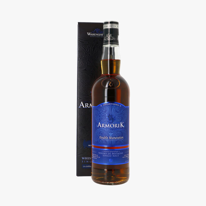 Whisky de Bretagne single malt, double maturation Armorik Whisky Breton