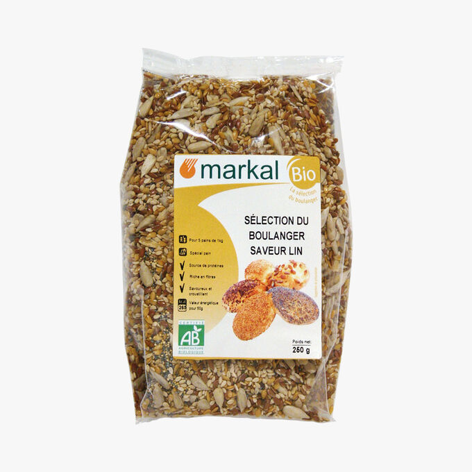 Sélection du boulanger saveur lin Markal