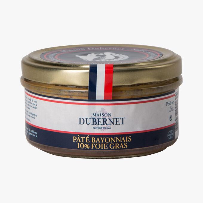 Pâté bayonnais 10% foie gras Maison Dubernet