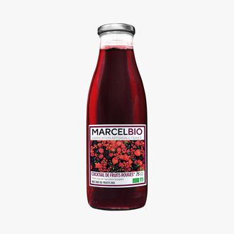 Organic red fruit cocktail Marcel Bio