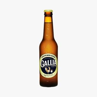 Bière blanche au blé Hefeweizen Gallia Paris