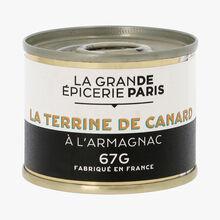 La terrine de canard à l'Armagnac La Grande Épicerie de Paris