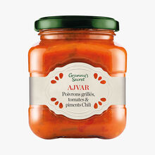 Ajvar, grilled peppers, tomatoes and chilies Granny's Secret