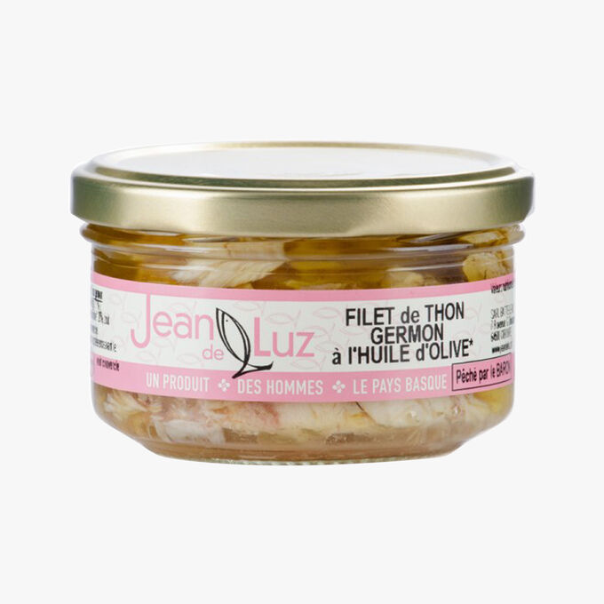 Albacore tuna fillet in olive oil Jean De Luz
