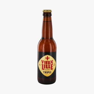 Bière blonde Vieux Lille Triple Brasserie des Sources