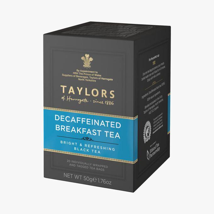 Thé dethéiné 20 sachets Taylor's of Harrogate