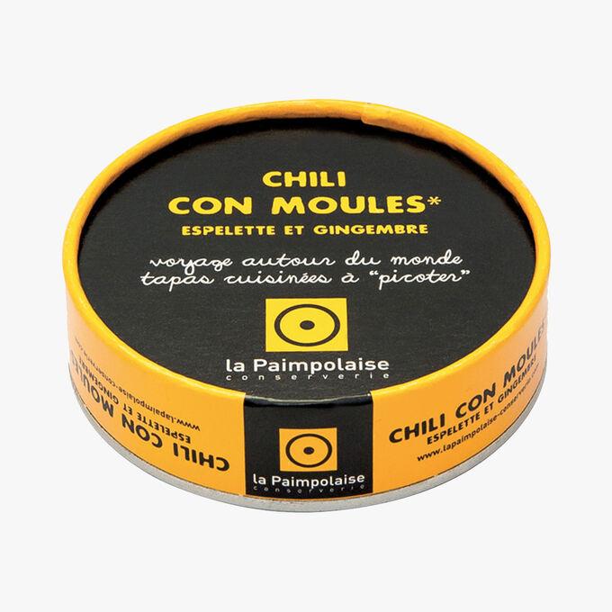 Chili con moules, Espelette et gingembre La Paimpolaise Conserverie