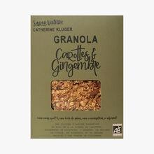 Granola aux carottes et au gingembre SuperNature Catherine Kluger