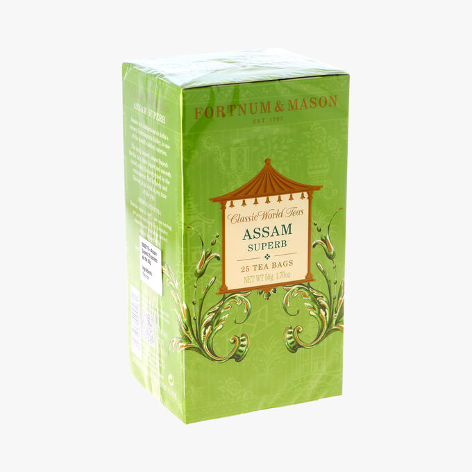 Superbe Assam - 25 sachets de thé Fortnum & Mason's
