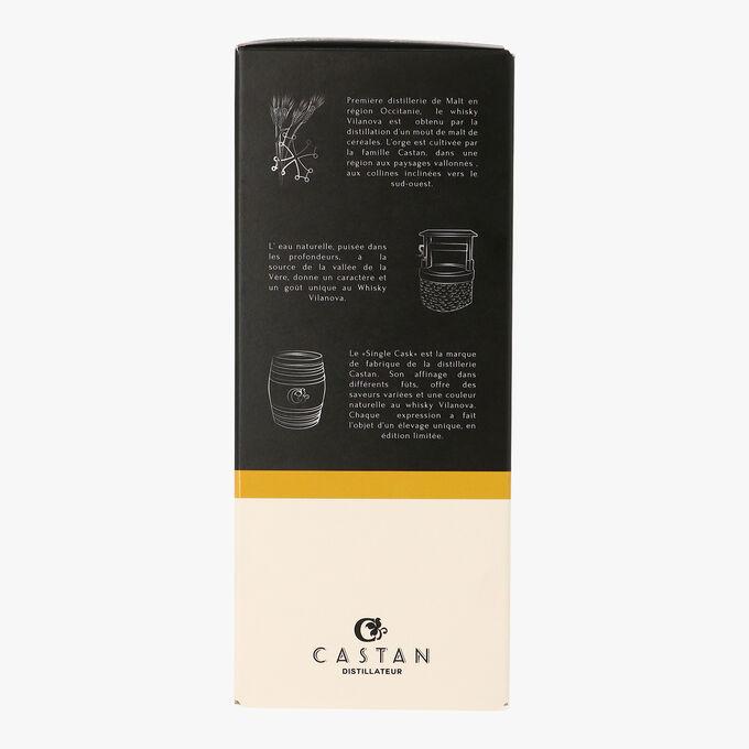 VILANOVA Whisky, BERBIE Edition, pure single cask malt Distillerie Castan