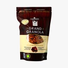 Grand granola mélange chocolatier - chocolat noi au pralin avec éclats de fèvres de cacao La Fourmi Bionique
