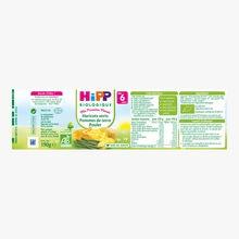 Haricots verts, pommes de terre, poulet HiPP