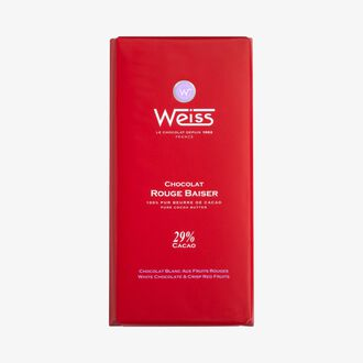 Rouge Baiser chocolate bar Weiss