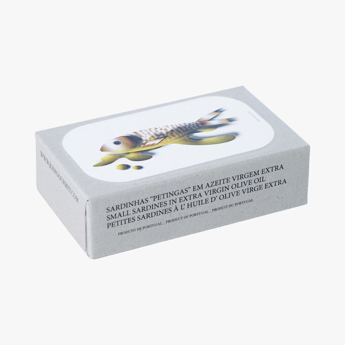 Petites sardines à l'huile d'olive extra vierge José Gourmet