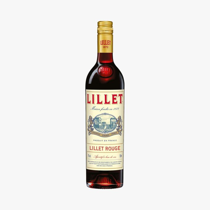 Aperitif made with Lillet red wine Lillet