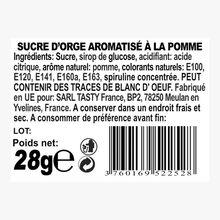 Sucre d'orge aromatisé à la pomme Tasty France