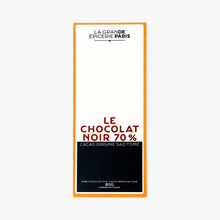 La chocolat noir 70 % - Cacao origine Sao Tomé La Grande Épicerie de Paris