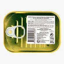 Les sardines au poivre de Sichuan à l'huile d'olive vierge extra La Grande Épicerie de Paris