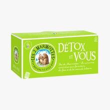 Infusion Détox et vous Les 2 Marmottes