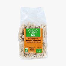 Pâtes Tagliatelle semi-complète bio Pâtes Fabre