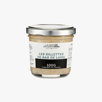 Rillettes of line-caught sea bass La Grande Épicerie de Paris