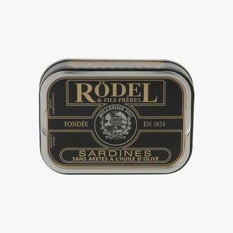 Boneless sardines in olive oil   Rödel