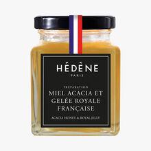 Miel d'acacia à la gelée royale Française Hédène